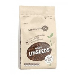 LINSEEDS (FLAXSEEDS) 400GM