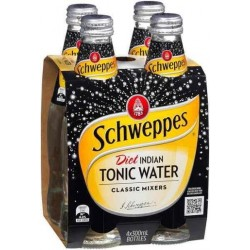 DIET TONIC WATER 4 PACK 300ML