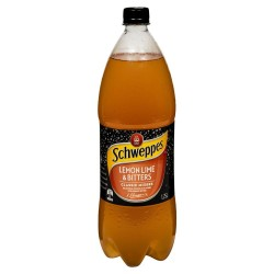 LEMON LIME AND BITTERS SOFT DRINK 1.25L