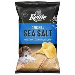 SEA SALT NATURAL POTATO CHIPS 185GM