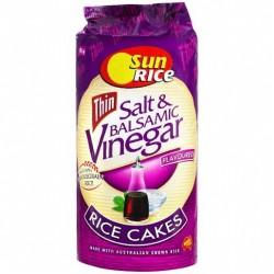 THIN SALT & VINEGAR RICE CAKES 195GM