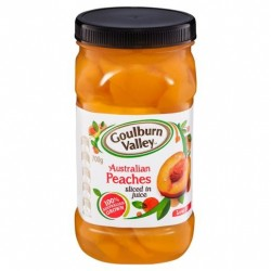 SLICED PEACHES 700GM
