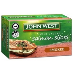 SMOKED SALMON SLICES 125GM