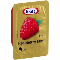 RASPBERRY JAM PORTIONS 75X14GM