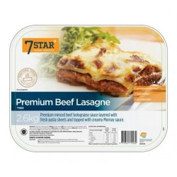 PREMIUM BEEF LASAGNA READY MADE 2.6KG