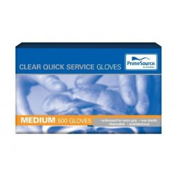 MEDIUM CLEAR GLOVES 500S