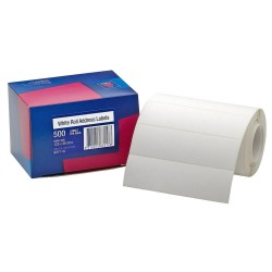 ADDRESS LABELS ROLL 125X36MM 500PK