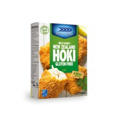 GLUTEN FREE HOKI FISH FILLETS CRUMBED 280GM 4PK