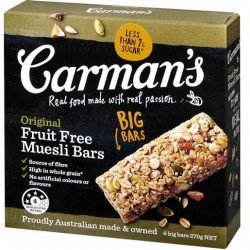 MUESLI BAR ORIGINAL 270GM