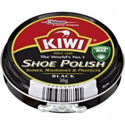 SHOE POLISH BLACK 38GM