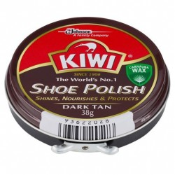 SHOE POLISH DARK TAN 38GM