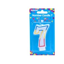 BIRTHDAY CANDLE NUMERAL 5