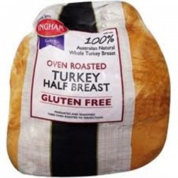 HALF OVEN ROASTED BREAST TURKEY 2.5kg approx
