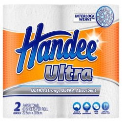 ULTRA PAPER TOWELS WHITE 2S