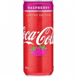 RASPBERRY CAN 24X250ML