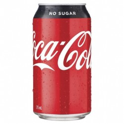 NO SUGAR CANS 24X375ML