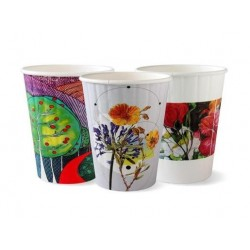 PAPER CUP DOUBLE WALL ART SERIES 40S