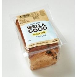 PUREBRED GLUTEN FREE RAISIN BREAD 400GM