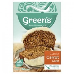 CAKE MIX TRADITIONAL CARROT 470G