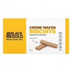 CHOCOLATE CREAM WAFERS 125GM