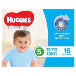 WALKER NAPPIES BOYS 13-18KG 16PK