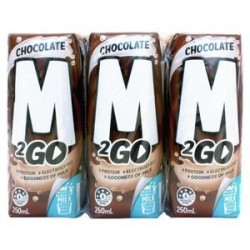M2GO CHOCOLATE MILK UHT 6X250ML