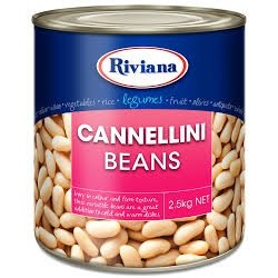 CANNELLINI BEANS 2.5KG