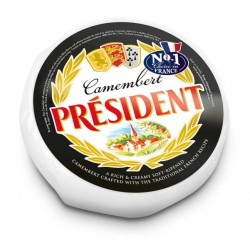 PRESIDENT CAMEMBERT CHEESE APPROX 1.1KG