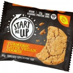 START ME UP TURMERIC LATTE VEGAN COOKIE 90GM