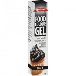 GEL FOOD COLOURING BLACK 15GM