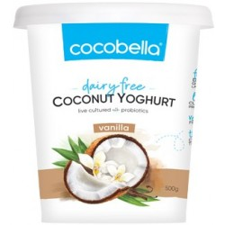 COCONUT AND VANILLA YOGHURT 500GM
