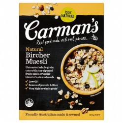 NATURAL BIRCHER MUESLI 500GM