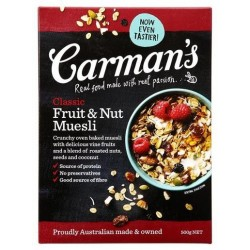 CLASSIC FRUIT AND NUT MUESLI 500GM