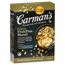 ORIGINAL FRUIT FREE MUESLI 500GM