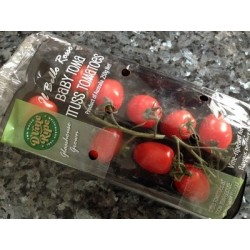 BABY ROMA TOMATOES TRUSS 250GM PUNNET
