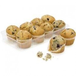 FRESH MINI MUFFINS BLUEBERRY 8PK 320GM