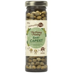 BABY CAPERS IN WINE VINEGAR 110GM