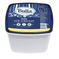 VANILLA ICE CREAM 5LT