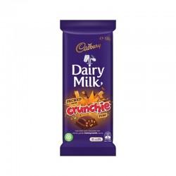 DAIRY MILK CRUNCHIE CHOCOLATE BLOCK 180GM