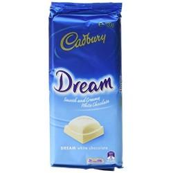 DREAM WHITE CHOCOLATE BLOCK 180GM