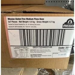 GLUTEN FREE PIZZA BASES 7S