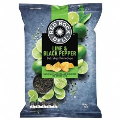 LIME AND PEPPER CHIPS 165GM