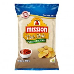 CORN CHIPS DELI ROUND 500GM
