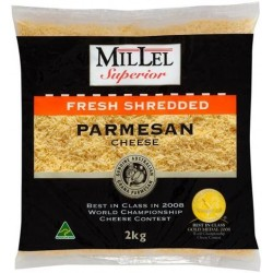 SHREDDED PARMESAN CHEESE 2KG