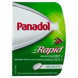 PANADOL CAPLETS RAPID HANDY PACK 10S