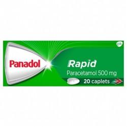 PANADOL CAPLETS RAPID 20S
