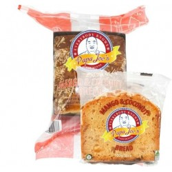 INDIVIDUALLY WRAPPED MANGO & COCONUT BREAD SLICED 5PK 500GM