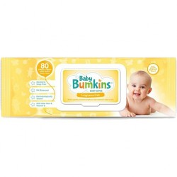 BABY WIPES UNSCENTED 80PK