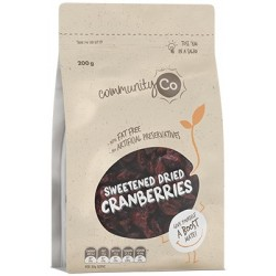 DRIED CRANBERRIES 200GM