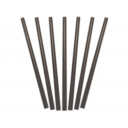 PAPER STRAWS COCKTAIL BLACK 250S
